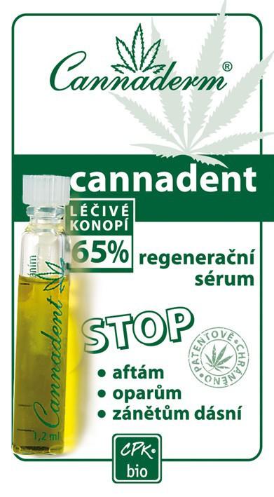 Cannaderm Cannadent regenerační sérum 1.5 ml