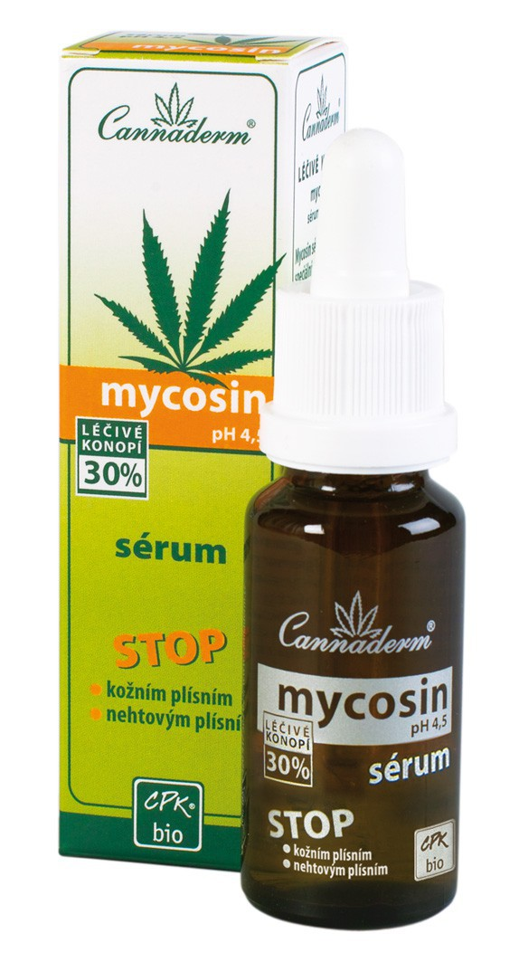 Cannaderm Mycosin sérum ph 4.5 20 ml