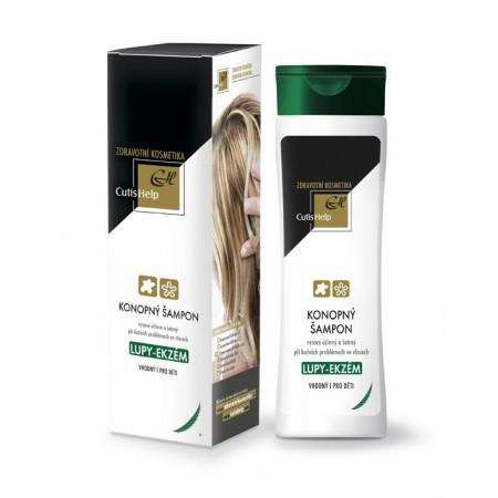 Cutis Help Konopný šampon lupy - ekzém 200 ml