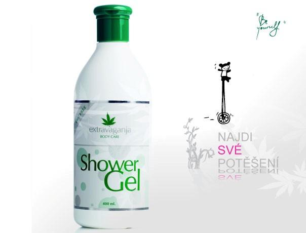Extravaganja konopný sprchový gel 400 ml