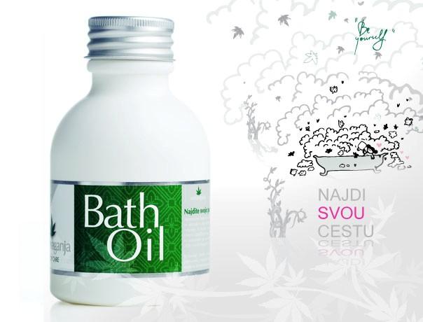 Extravaganja konopný olej do koupele 300 ml
