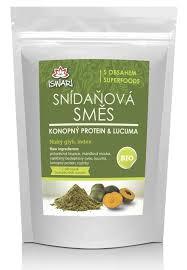 Snídaňová směs konopný protein - lucuma 360g - Superfoods