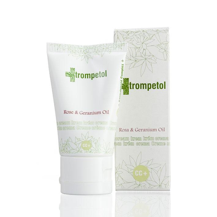 Trompetol konopný pleťový krém Rose & Geranium Oil 40ml