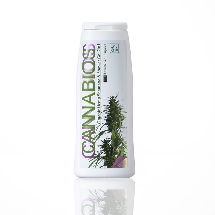 CANNABIOS konopný šampon & sprchový gel 250ml